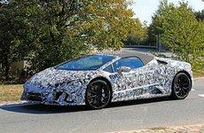 Lamborghini Huracan Spyder nâng cấp bất ngờ lộ trước khi ra mắt vào năm 2019 tới