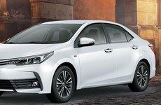 Toyota Corolla Altis nâng cấp thêm trang bị, giá tăng tới 38 triệu đồng