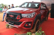 Toyota Hilux TRD Sportivo 2018 đầu tiên cập bến Việt Nam có gì ''hot''?