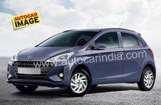 Phác họa Hyundai Grand i10 2019 thế hệ mới sẽ ra mắt tháng 10/2019 tại Ấn Độ