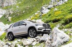 Mercedes-Benz GLE 2019 cường hóa khả năng vượt địa hình