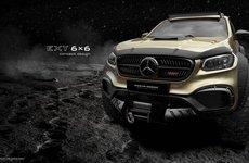 Carlex giới thiệu Mercedes X-Class 6X6 làm xiêu lòng fan off-road