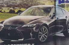 Lexus IS 2021 lộ bản thiết kế, sắp hồi sinh trở lại