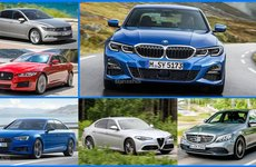 BMW 3-Series 2019 mới ra mắt đã gặp 9 'đại kình địch' sau