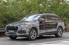 Audi Q7 2020 facelift lộ đầu xe hấp dẫn