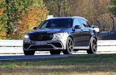 Mercedes-AMG GLC 63 Facelift lần đầu lộ diện thực tế