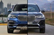 Đi tìm sự khác biệt của SUV BMW X7 và BMW X5 2019
