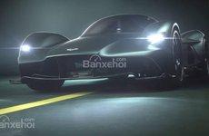 Siêu xe Aston Martin mới được xác nhận có tên Valhalla