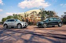 Mercedes-Benz GLC bản L trình làng, đối đầu với Audi Q5 L