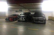 'Tóm gọn' Lexus LC 500 2018 đầu tiên tại Việt Nam trong một hầm đỗ xe