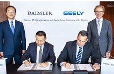 Daimler hợp tác với Geely để cung cấp dịch vụ đặt xe sử dụng ô tô Mercedes, Maybach