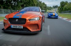 Siêu sedan XE SV Project 8 tham gia đội xe Ring taxi của Jaguar