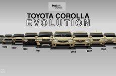 Điểm lại 11 thế hệ của Toyota Corolla - mẫu xe bán chạy nhất thế giới