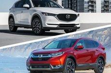 Phân khúc CUV tháng 10: Mazda CX-5 vượt Honda CR-V với 'tỷ số nghẹt thở'