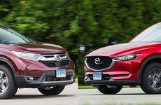 10 xe gia đình giá rẻ tốt nhất năm 2018: Nên mua Honda CR-V và Mazda CX-5