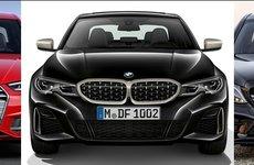 So sánh 3 mẫu xe hiệu suất BMW M340i, Mercedes-AMG C43 và Audi S4 2019