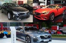 So sánh giá xe VinFast LUX A2.0 với các đối thủ trong tầm giá 800 triệu