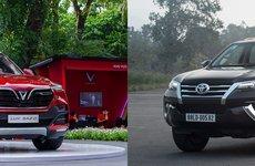 So sánh nhanh VinFast LUX SA2.0 với Toyota Fortuner 2.7V 4x2 cùng tầm giá hơn 1,1 tỷ đồng