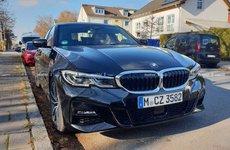 Chưa mở bán, BMW 3-Series 2019 thế hệ mới lộ diện trần trụi trên phố Đức