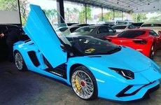 Chiếc Lamborghini Aventador S Roadster đầu tiên đã có mặt tại Campuchia