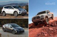 Người Mỹ xếp hạng những mẫu xe Toyota tốt nhất đến dở nhất