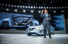 Nissan Leaf 2019 hoãn ngày trình làng