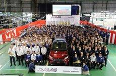 Toyota RAV4 2019 bắt đầu đi vào sản xuất