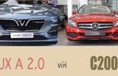So sánh VinFAST LUX A2.0 và Mercedes-Benz C200 2018