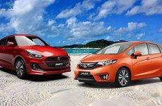Suzuki Swift GLX và Honda Jazz RS: Bản cao cấp có gì?