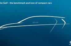 Volkswagen Golf 2020 tung bản vẽ nhá hàng