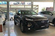 Hyundai Santa Fe 2019 máy dầu tại đại lý có giá bán từ 1,16 tỷ đồng