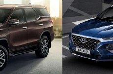 Top SUV ăn khách nhất Việt Nam năm 2018: Hyundai Santa Fe khó lòng đánh bại Toyota Fortuner