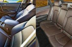 Phụ kiện xe hơi: sự khác biệt giữa ghế da tiêu chuẩn và da Nappa