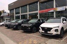 Hyundai Santa Fe 2019 tràn ngập đại lý, giống bản trưng bày và vẫn 'bán bia kèm lạc'