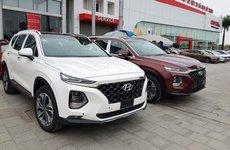 Giá lăn bánh xe Hyundai Santa Fe 2019 cao nhất hơn 1,4 tỷ đồng