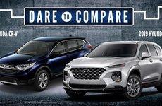 Chọn xe Hàn Hyundai Santa Fe 2019 hay đối thủ xe đến từ Pháp - Nhật?