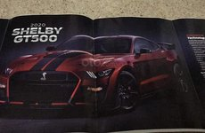 Ford Mustang Shelby GT500 2020 lộ ảnh brochure