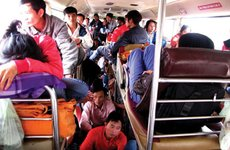 Các quy định về tàu, xe chở khách ngày Tết cần biết