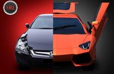 """Honda Accord """"biến hóa"""" thành siêu xe Lamborghini Aventador khiến giới chơi xe khó chịu"""