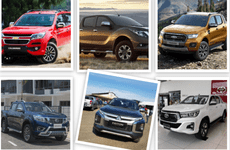 So sánh giá xe Mitsubishi Triton 2019 với các đối thủ trong phân khúc bán tải