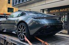 Aston Martin DB11 chính hãng đã lộ diện tại Việt Nam