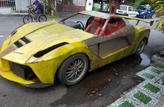 Không có tiền chơi Ferrari LaFerrari, dân Malaysia tự chế siêu xe