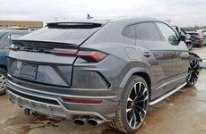 Lamborghini Urus 2019 nát đầu sau tai nạn vẫn có giá 2,7 tỷ đồng