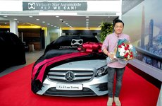 'Anh hai' Lam Trường tậu Mercedes-Benz E300 AMG trước Tết