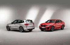 SUV hiệu suất mạnh mẽ BMW X3 M và X4 M 2020 chính thức lộ diện