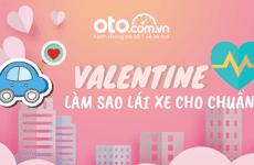 Ngày Valentine lái xe sao cho chuẩn?