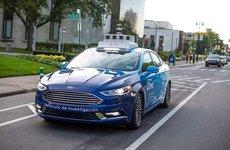 Ford sáng chế đèn thông minh cho ô tô tự lái