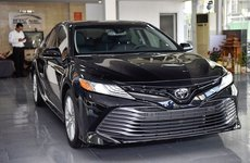 Toyota Camry thế hệ mới nhập Mỹ giá 2,5 tỷ đồng bất ngờ xuất hiện tại Hà Nội