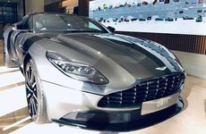 Siêu xe Aston Martin DB11 V8 nhập khẩu chính hãng thuộc sở hữu của đại gia Vũng Tàu