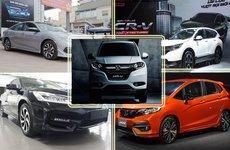 Honda Việt Nam hiện có bao nhiêu mẫu xe nhập khẩu?